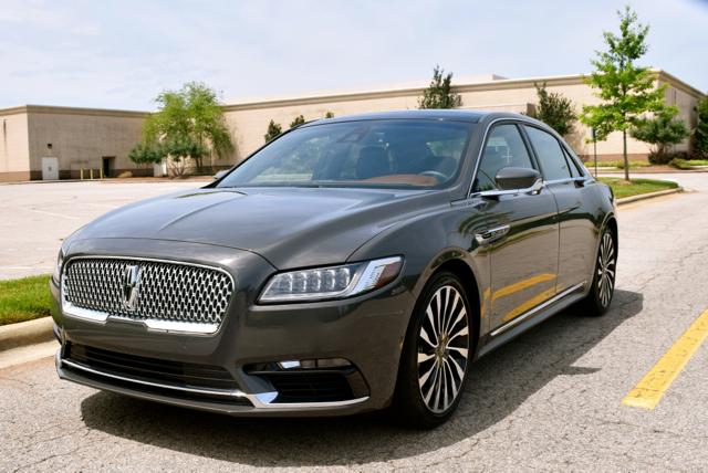 Black Label 2017 Lincoln Continental