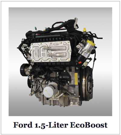 Ford 1.5-Liter EcoBoost Four-Cylinder Engine