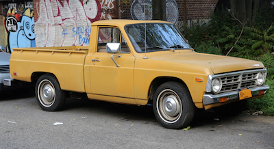 1972 Ford Courier pickup truck.