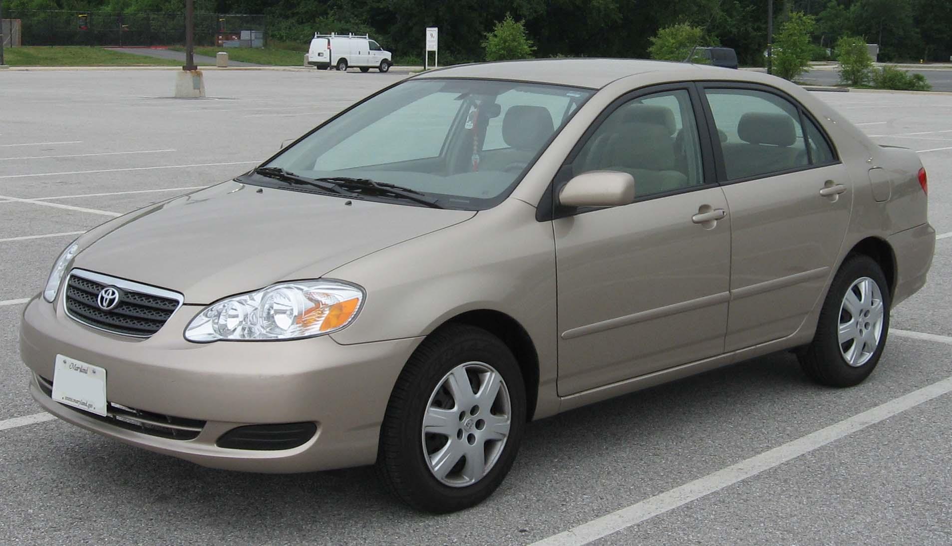 Toyota Corolla Recall.