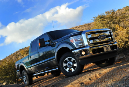2011 Ford Super Duty.