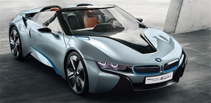 2013 BMW i8.