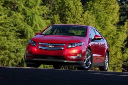 2013 Chevrolet Volt.