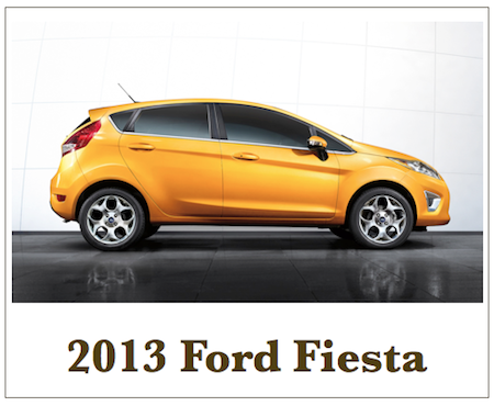 Auto Industry: 2013 Ford Fiesta