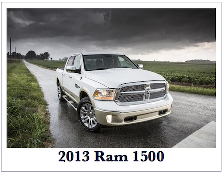 Auto Industry: 2013 Ram 1500
