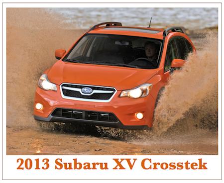 Auto Industry: 2013 Subaru XV Crosstek