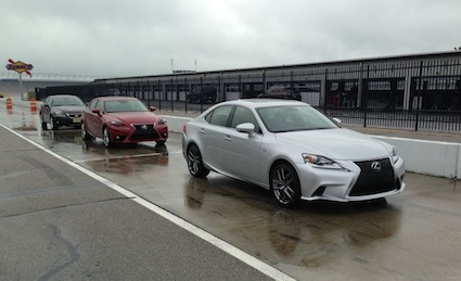2014 Lexus IS Sedans.