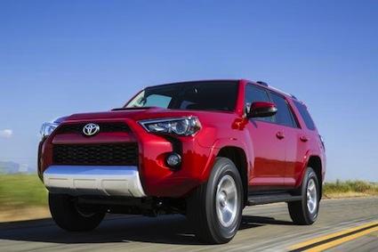 2014 Toyota 4Runner.