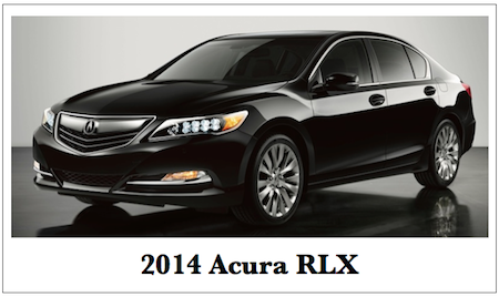 Acura RLX auto reliability is above average.