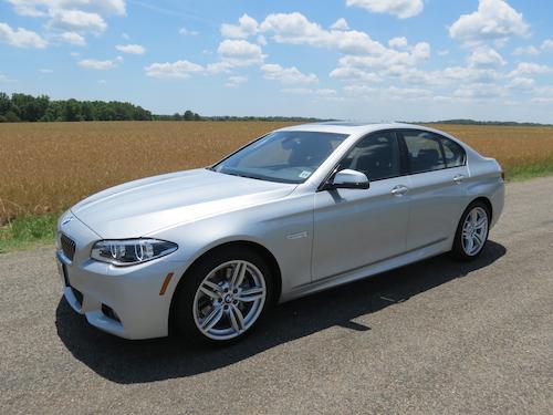 2014 BMW 535d.