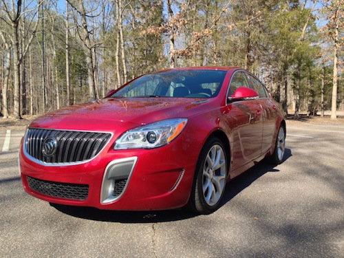 2014 Buick Regal GS.