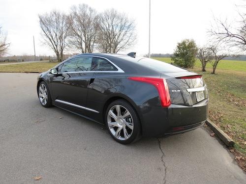 2014 Cadillac ELR.
