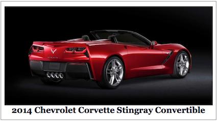 2014 Corvette Convertible