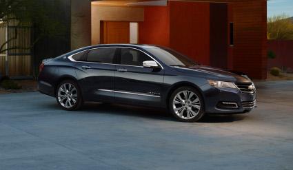 Chevrolet Impala large sedan.