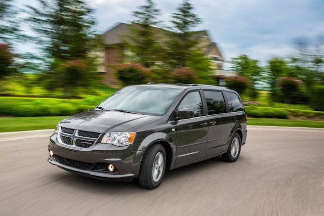 The 30th anniversary Dodge Grand Caravan.