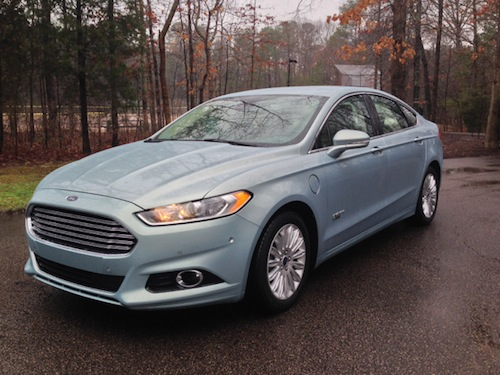 Top Safety Pick+ -- 2014 Ford Fusion (select models).