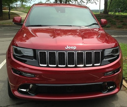 Car Reviews: Jeep Grand Cherokee SRT