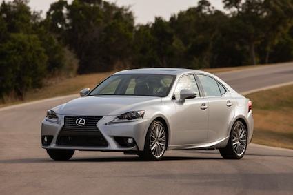Lexus IS auto sales.