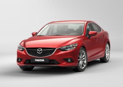 2014 Mazda6 fuel economy.