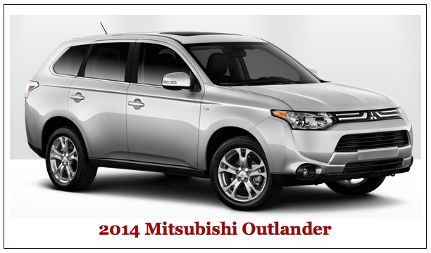 Mitsubishi Outlander Small Crossover.