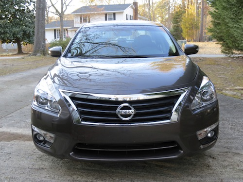 The 2014 Nissan Altima midsize sedan.