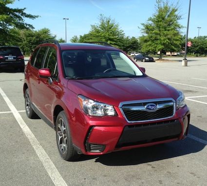 Top Safety Pick+ -- 2014 Subaru Forester (select models).