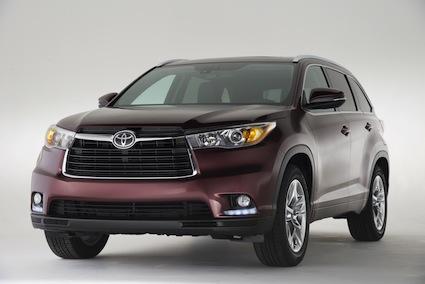 2014 Toyota Highlander.