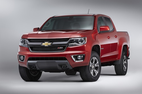 2015 Chevrolet Colorado Z71.