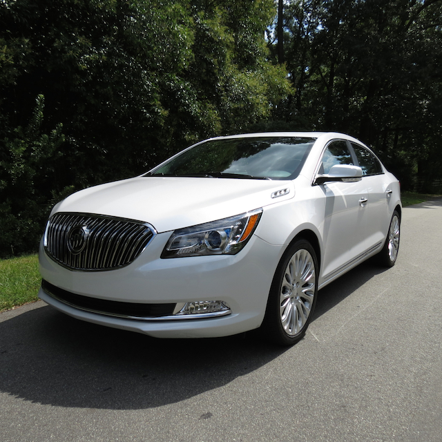 2015 Buick LaCrosse (own photo)