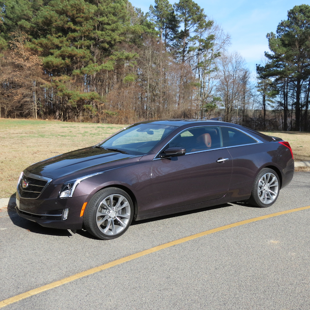 Big Three: Cadillac ATS Coupe