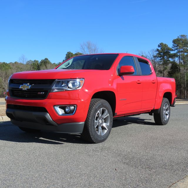 2015 Chevrolet Colorado.