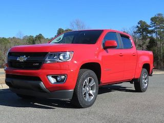 2015 Chevrolet Colorado crew cab.