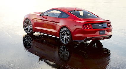 2015 Ford Mustang fastback.