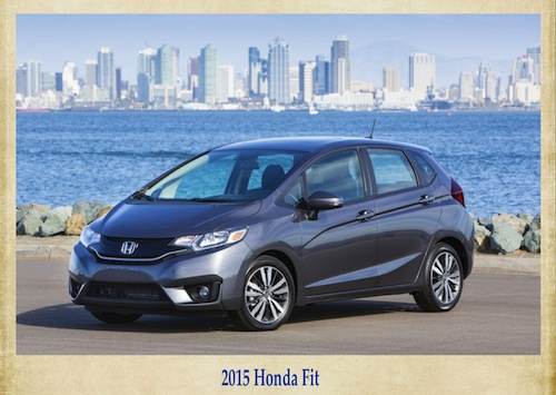 Honda Fit fuel efficient vehicle