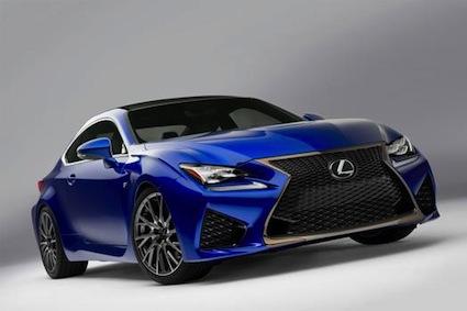 2015 Lexus RC F.