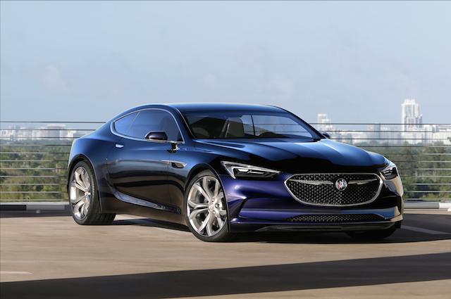 Buick Avista concept.