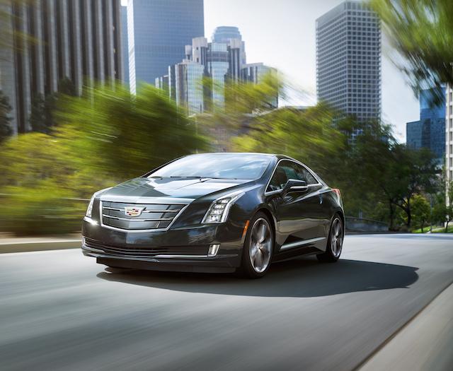 2016 Cadillac ELR.