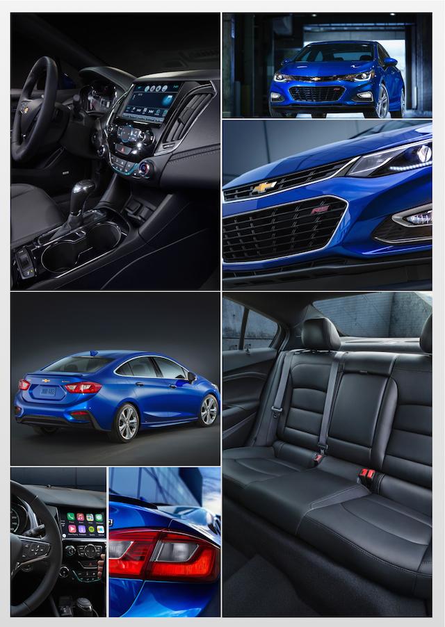 2016 Chevrolet Cruze.