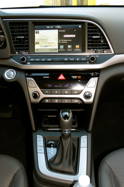 2017 Hyundai Elantra Limited.