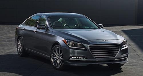 2015 Hyundai Genesis.