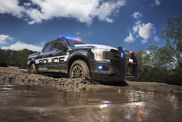 2018 Ford F-150 Police Interceptor
