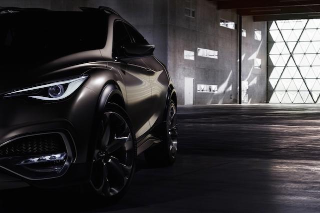 Infiniti QX30 Concept.