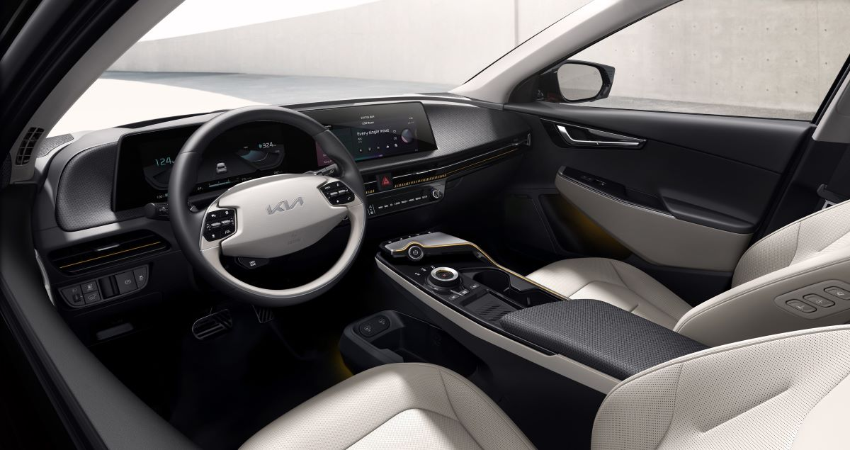 Kia EV6 crossover