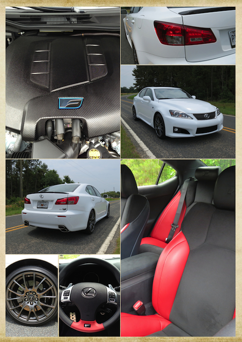 2014 Lexus IS F.