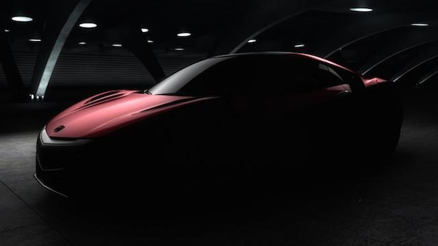 2016 Acura NSX.