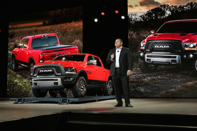 The Ram 1500 Rebel unveiled at Detroit's auto show.