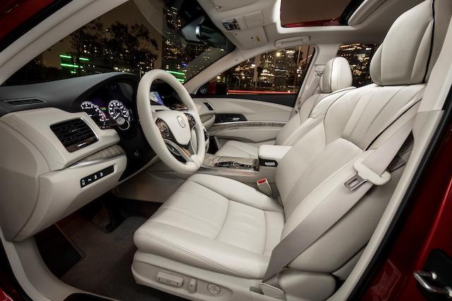 2018 Acura RLX Sport Hybrid.