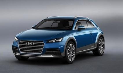 Audi Allroad Shooting Brake.