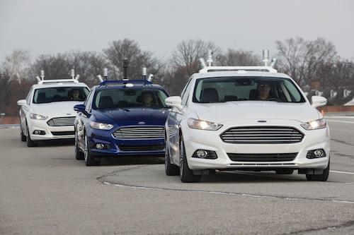 Autonomous Driving: Ford Fusion Hybrid