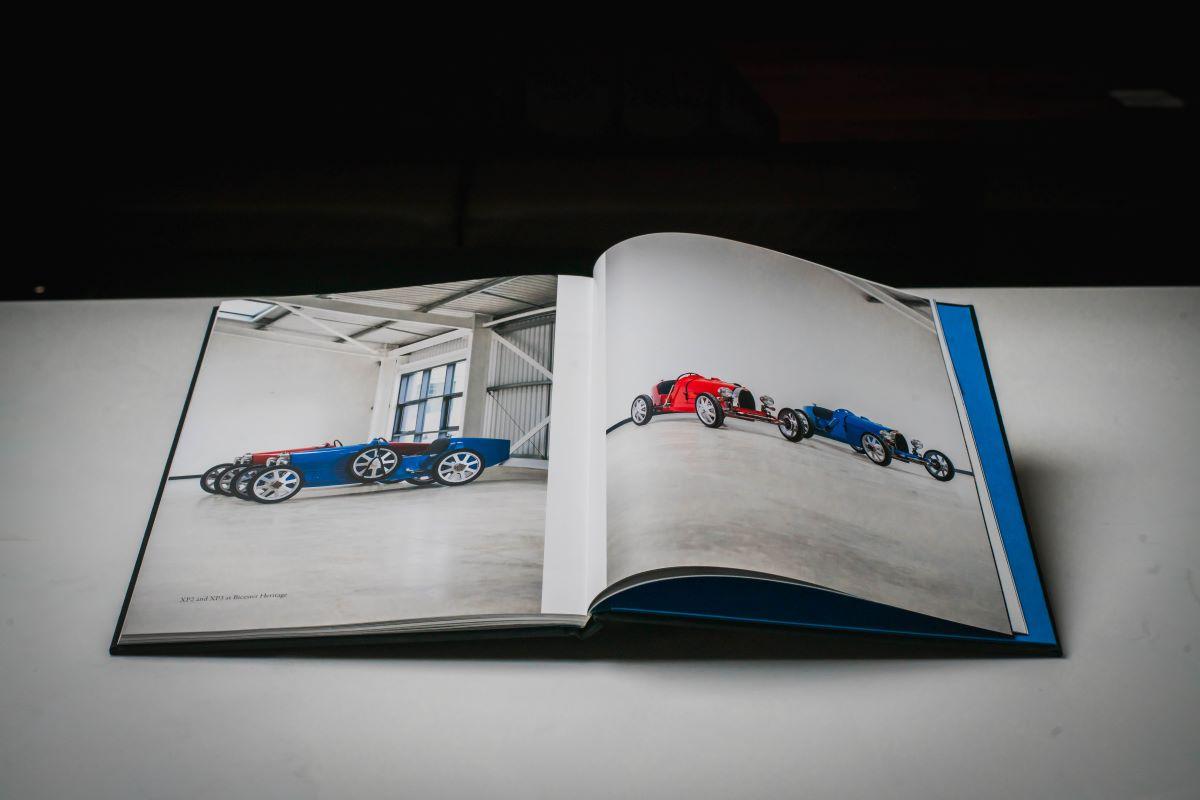 Bugatti Baby II in medai